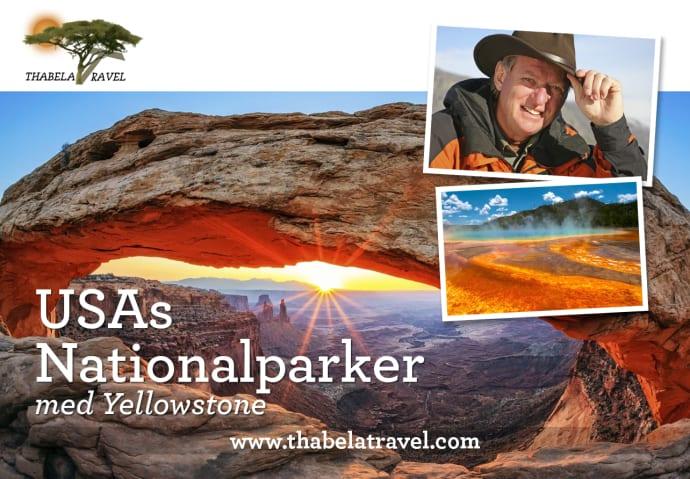 Rundresa till USAs nationalparker